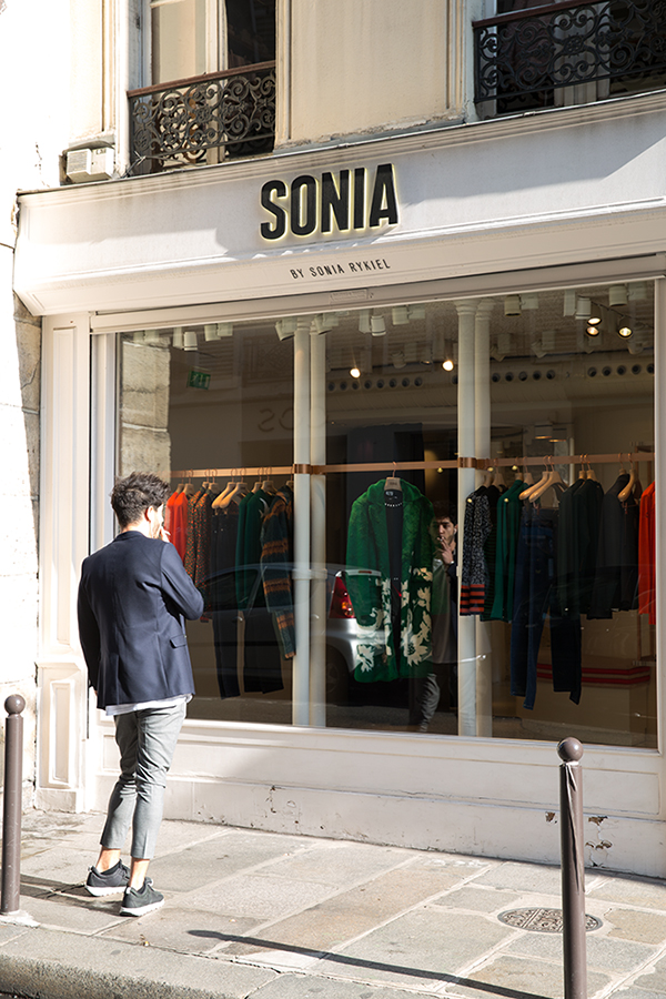 Sonia Rykiel in Paris