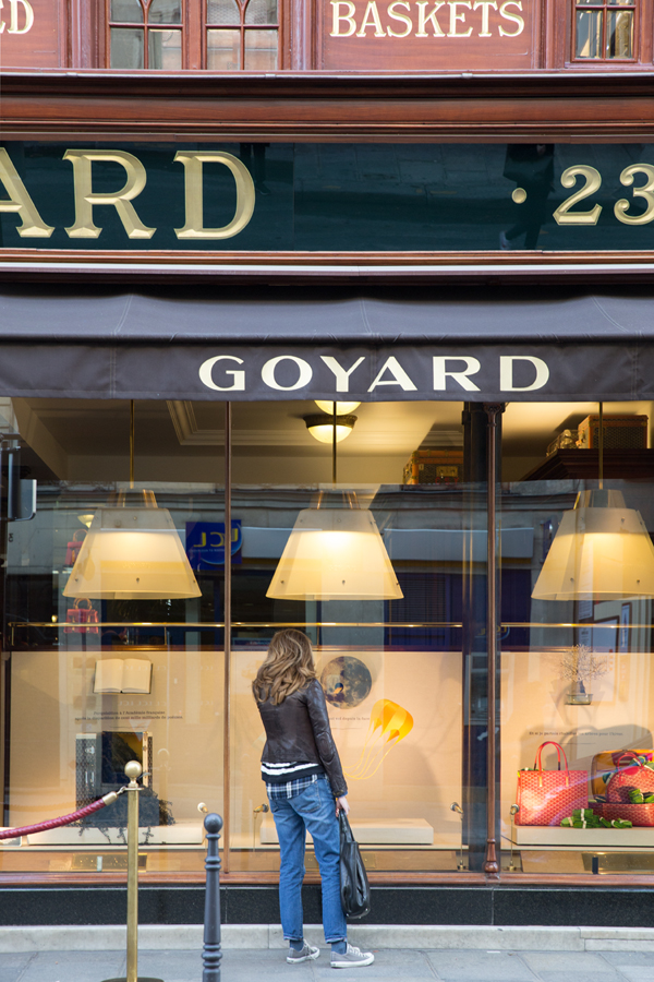 Goyard in Paris