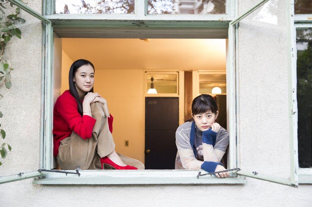 Yu Aoi and Mitsuki Takahata