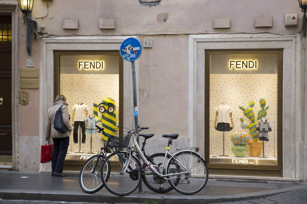 Fendi, Rome 2017