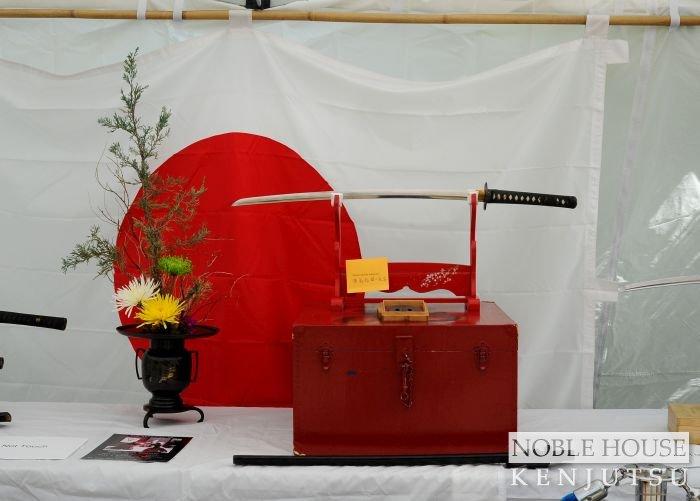 Sword display tent