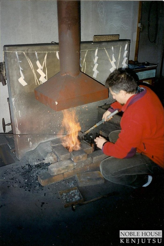 At the second forge