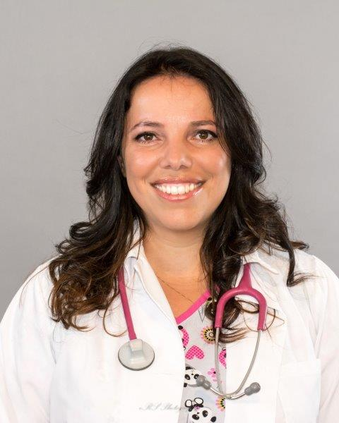 Dr. Orso graduate from University of Sao Paulo, Brazil in 1996. Right after that, she moved to the US and completed a 2 year fellowship at University of Pennsylvania Neurology's Department. She then relocated to Purdue University in West Lafayette, IN where she completed the ECFVG Certification program, obtaining her Veterinary License to practice in the US in 2001. In her quest for a bigger city, away from the cold weather and closer to home (Brazil), she ended up in Houston in 2009.      Her experiences include private practice, working at a feline mobile Spay/Neuter clinic and shelter medicine. She is also certified in Canine Rehabilitation.      While not at Panda's, Dr. Orso likes to spend time with her daughter Bri, her little rescue pups Molly (St. Bernard!) and Xuxa (Mastiff!), Buddy (Mastiff), Lilly (a quarter horse) and her 1 eye turtle, Tata.