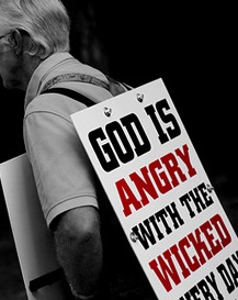 Angry God Sign