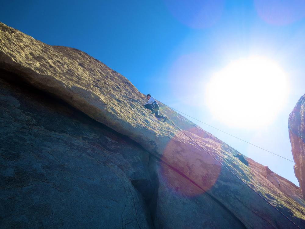 Kaci Nicole - Rock Climbing in Joshua Tree