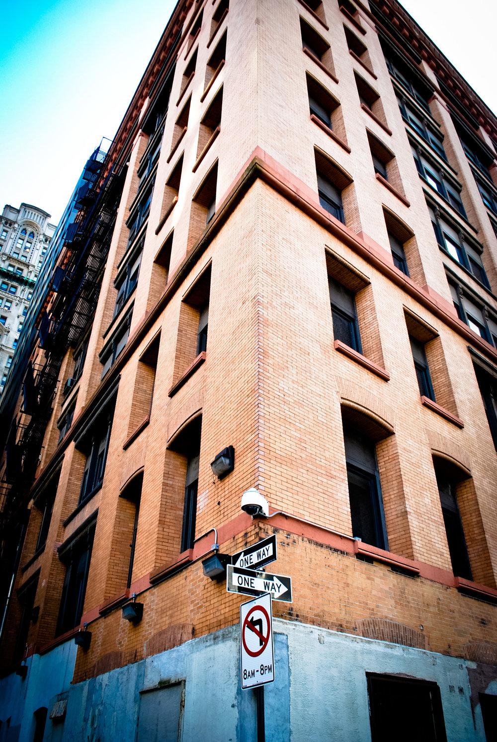 Kaci Nicole - NYE in NYC - Street Corner