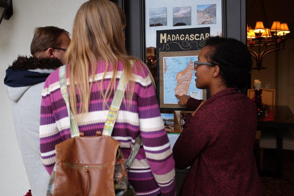 Kaci Nicole - Madagascar Map