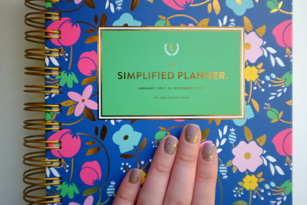 Kaci Nicole - 2017 Simplified Planner by Emily Ley