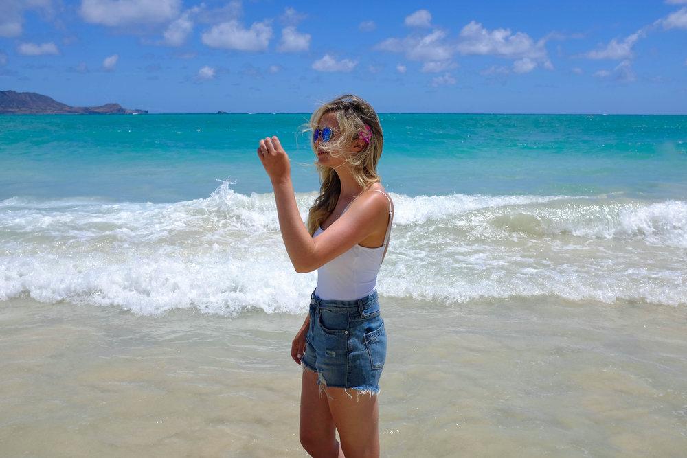 Lanikai Beach - 13 Things To Do On Oahu | Kaci Nicole