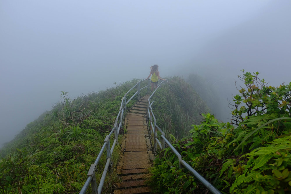 Stairway To Heaven - 13 Things To Do On Oahu | Kaci Nicole