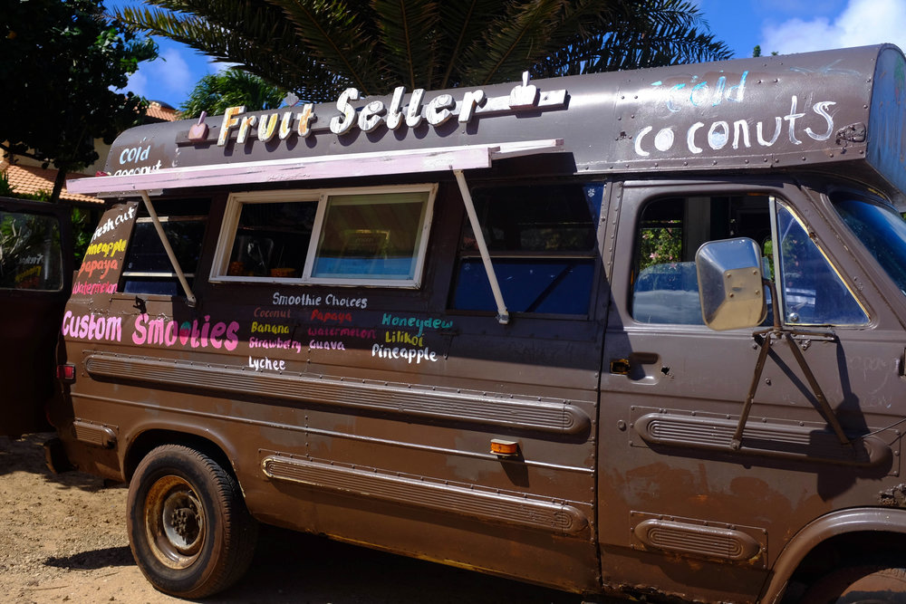 North Shore Fruit Stand - 13 Things To Do On Oahu | Kaci Nicole