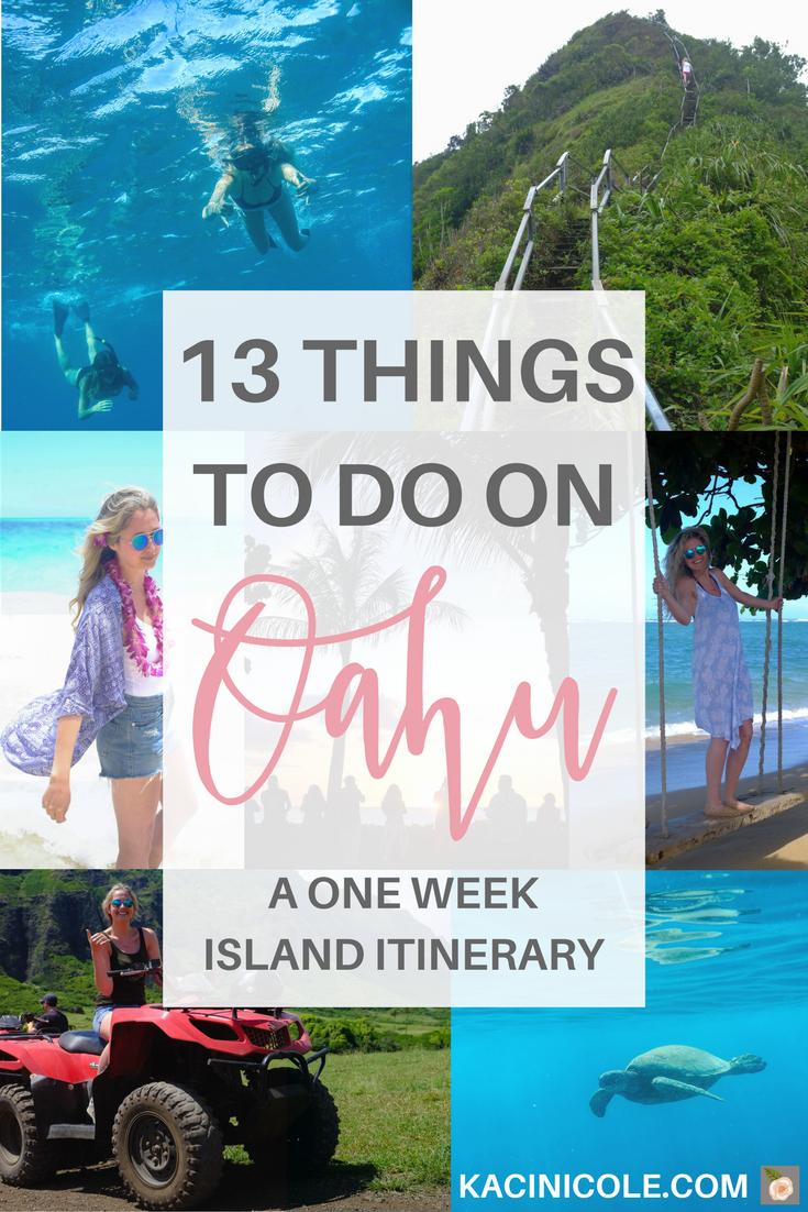 13 Things To Do On Oahu | Kaci Nicole