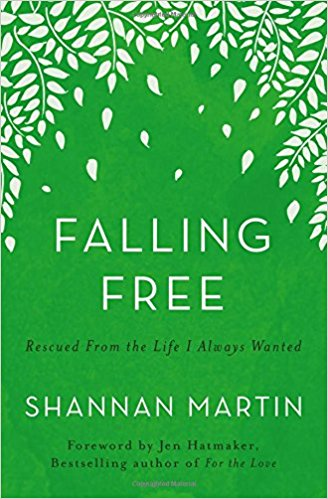 Falling Free by Shannan Martin | Best Books I've Read | Kaci Nicole