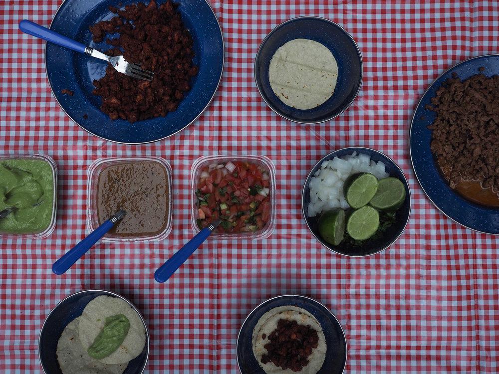 Taco Dinner Camping | Kaci Nicole.jpg