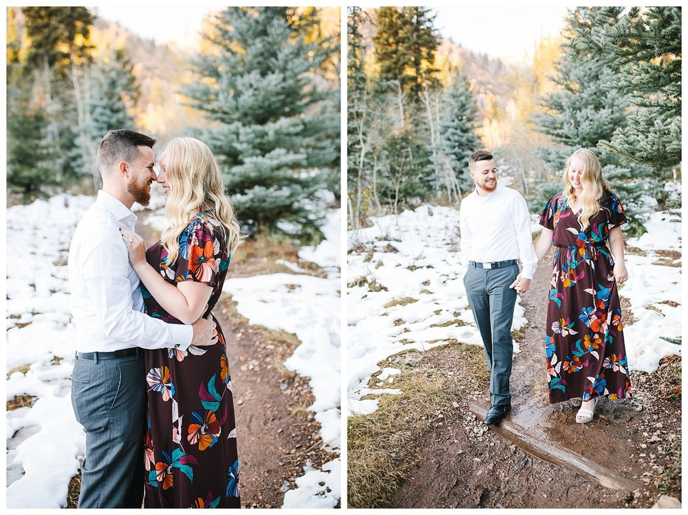 Utah Mountain Engagements Photographer