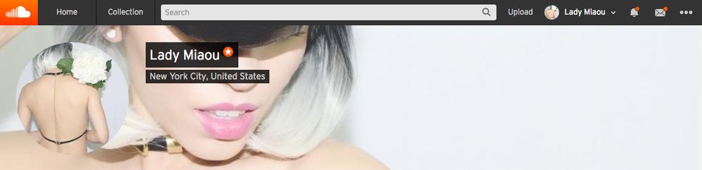 Lady Miaou_Soundcloud