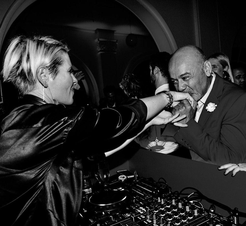 Dj Niki de Saint and Christian Louboutin 2.jpg