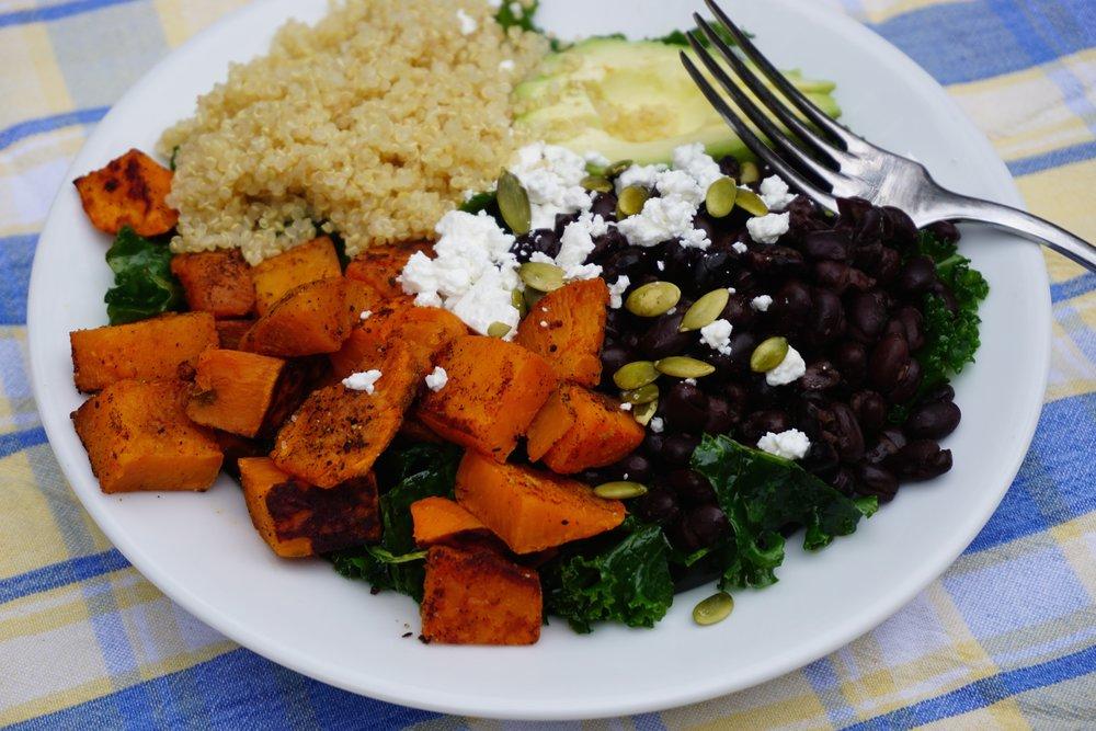 Southwestern Kale Salad.
