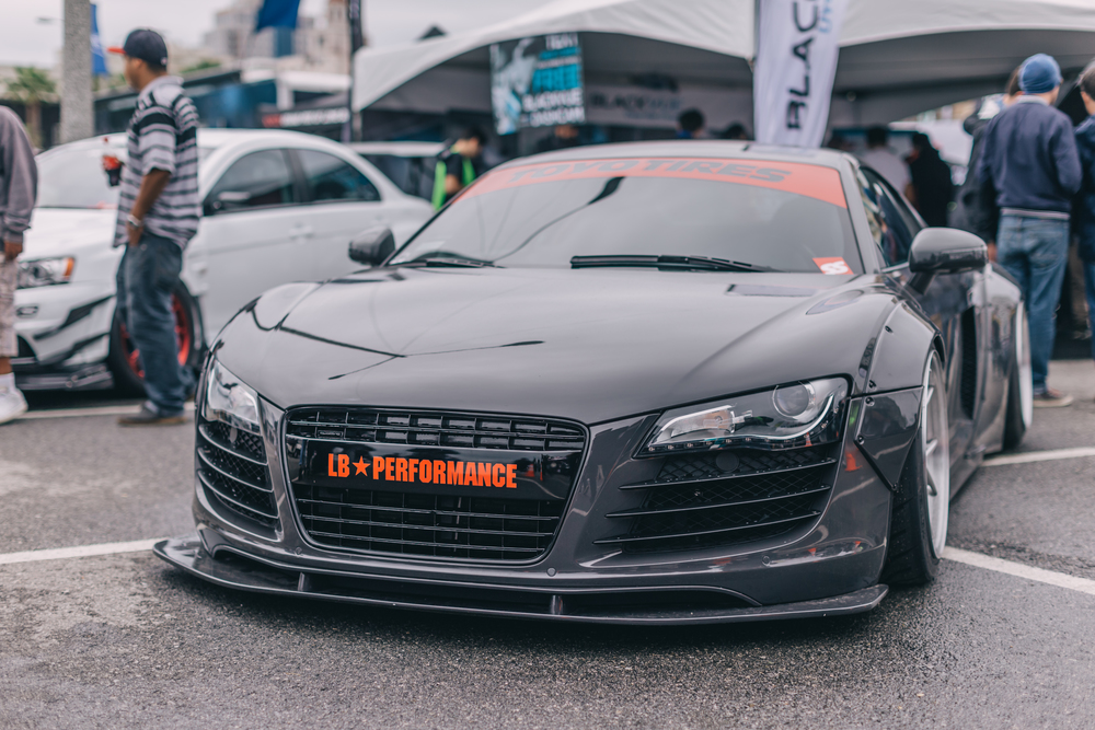 Liberty Walk Audi R8 produced by LTMW