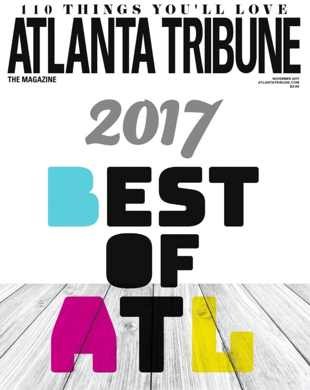 Sankofa Public Relations Atlanta Tribune November 2017 Best in Atlanta