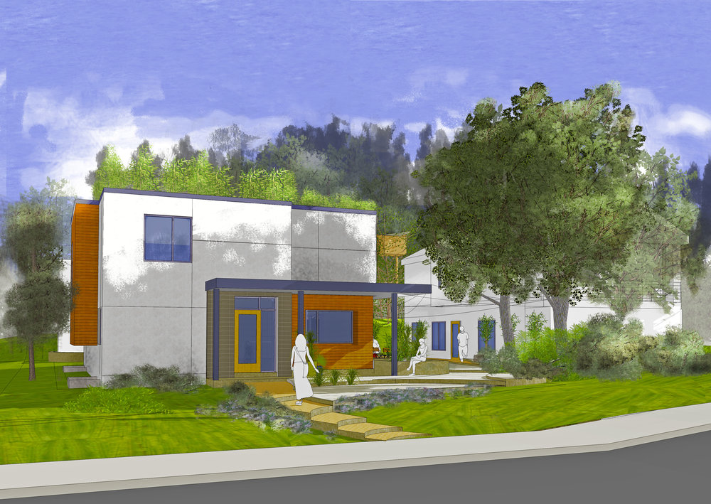Hold the McMansion, Bring on the New American Dream!    Tired of the long commute, Kardashian housing prices or impossibility of aging in place? Goose Creek will soon propose to Planning Board the first    Innovate for Impact    housing pilot: converting an old duplex into 8 permanently affordable, small, mixed income condos in the footprint of the legally allowed mcmansion. Transportation will feature shared electric cars and bikes and no private fossil-fuel car parking on site or in nearby streets for residents.    More here.