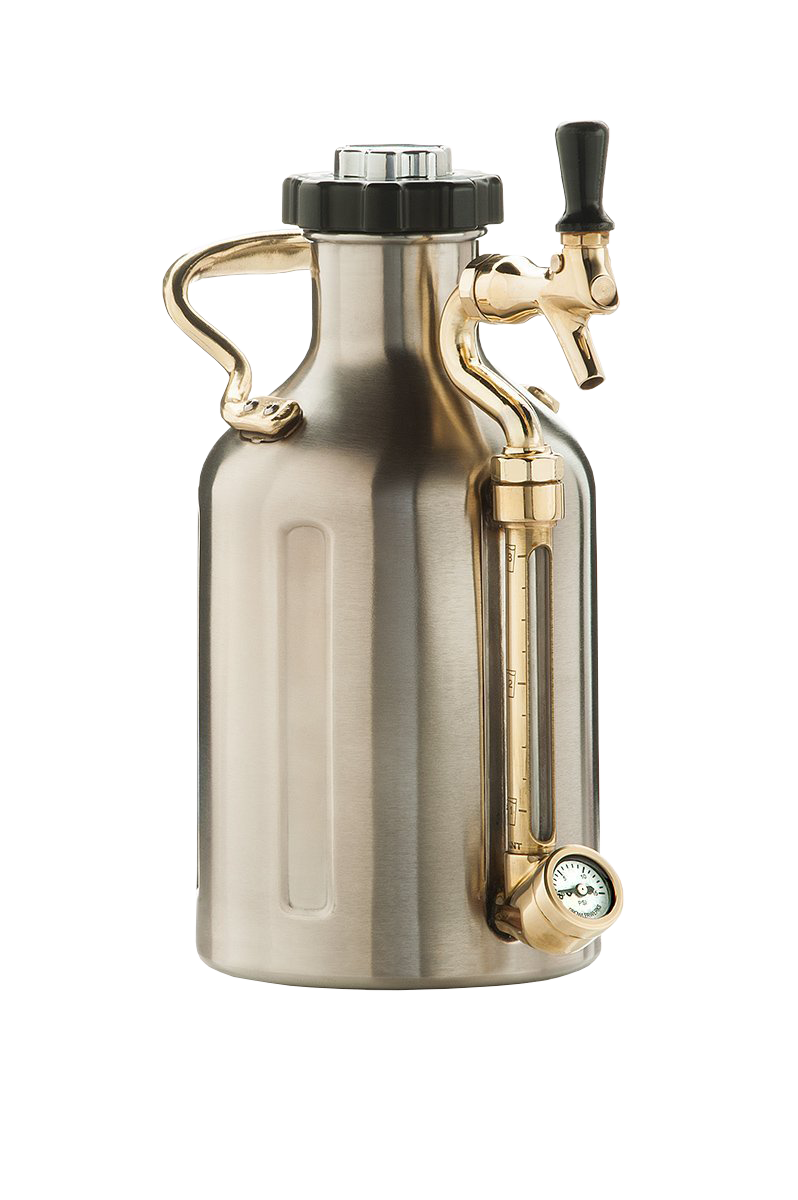 Pressurized Craft Beer Growler, $150