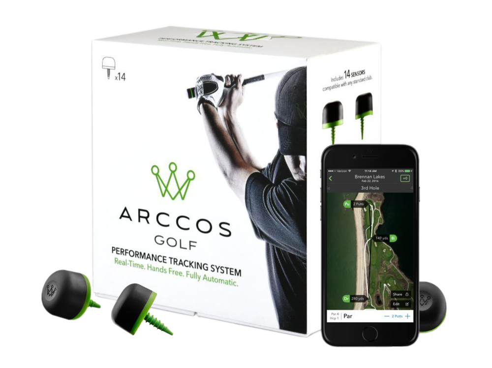 Arccos Golf Tracking System, $250