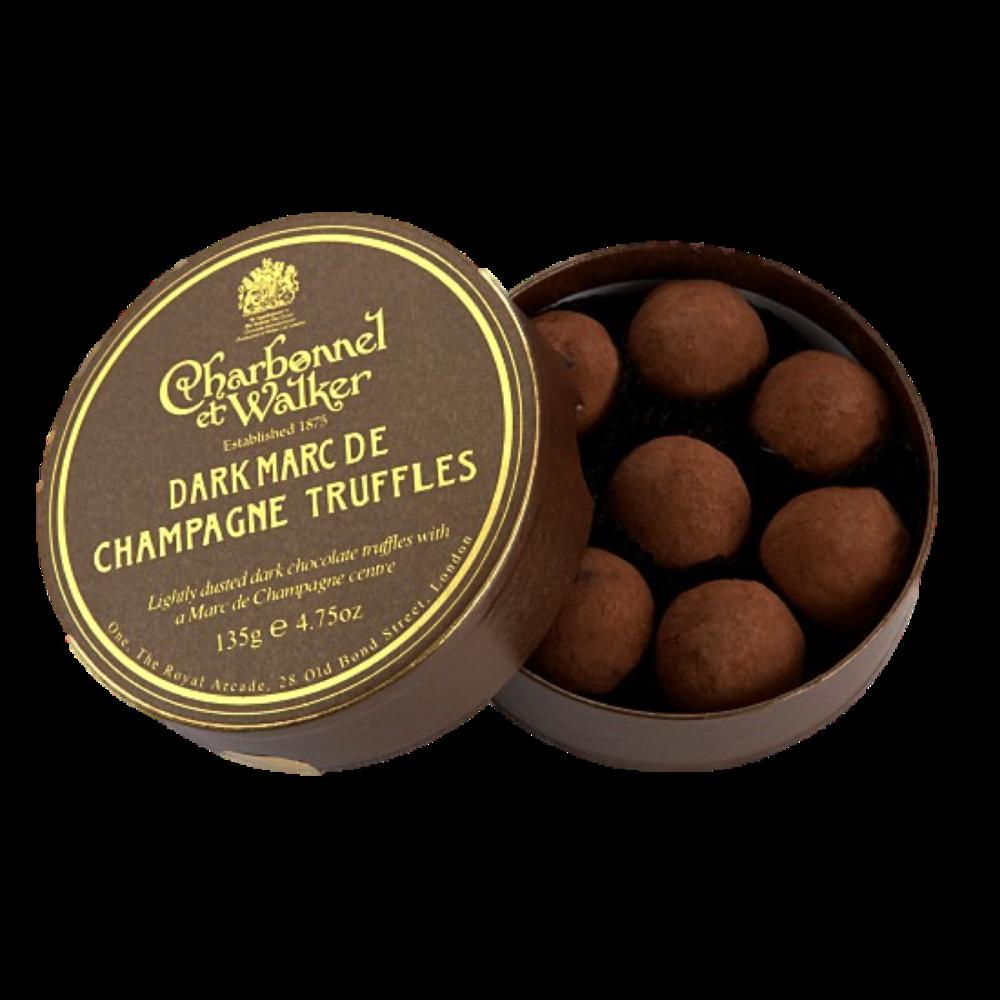 Marc de Champagne Truffles, $26