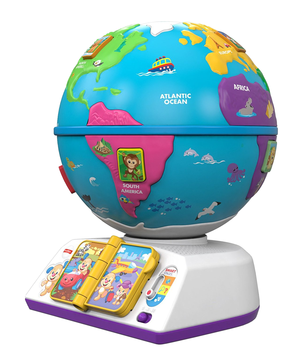 Laugh & Learn Greetings Globe, $34