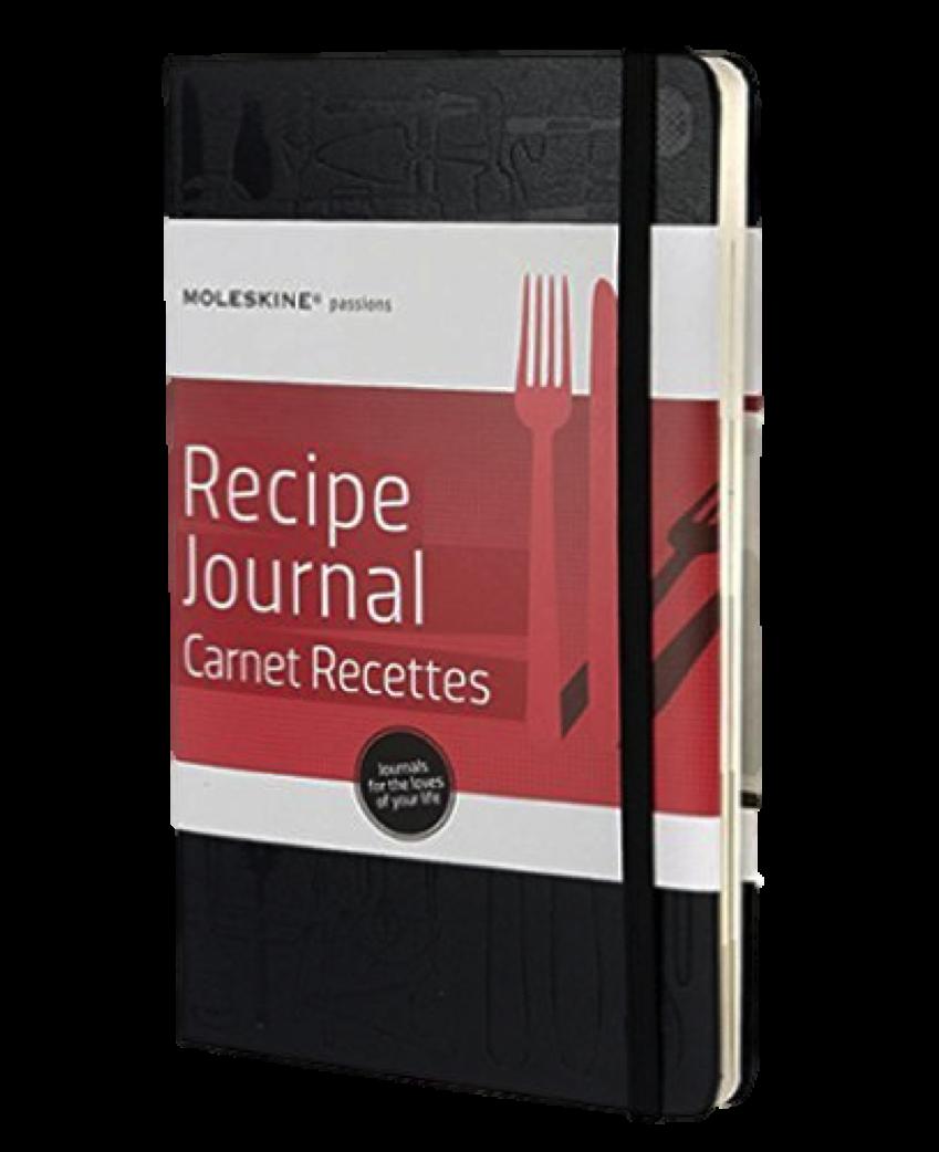 Moleskin Recipe Journal, $14