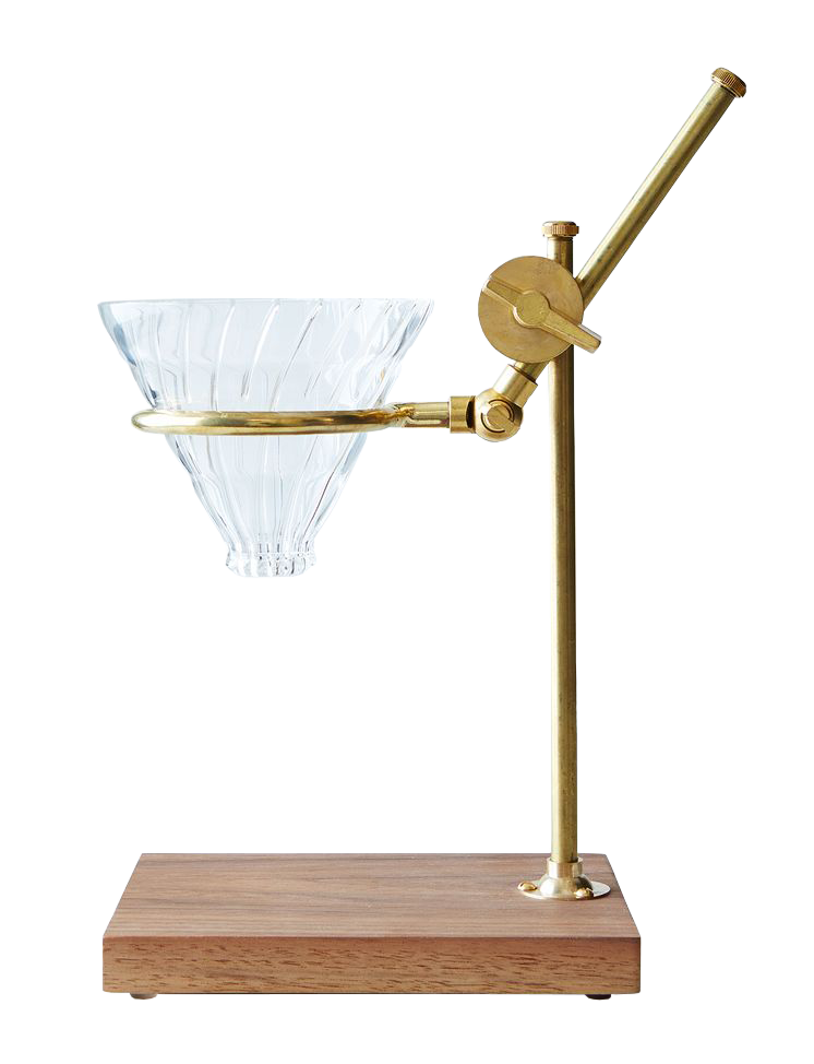 Brass Pour Over Coffee Stand, $189