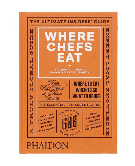 Where Chefs Eat, $15