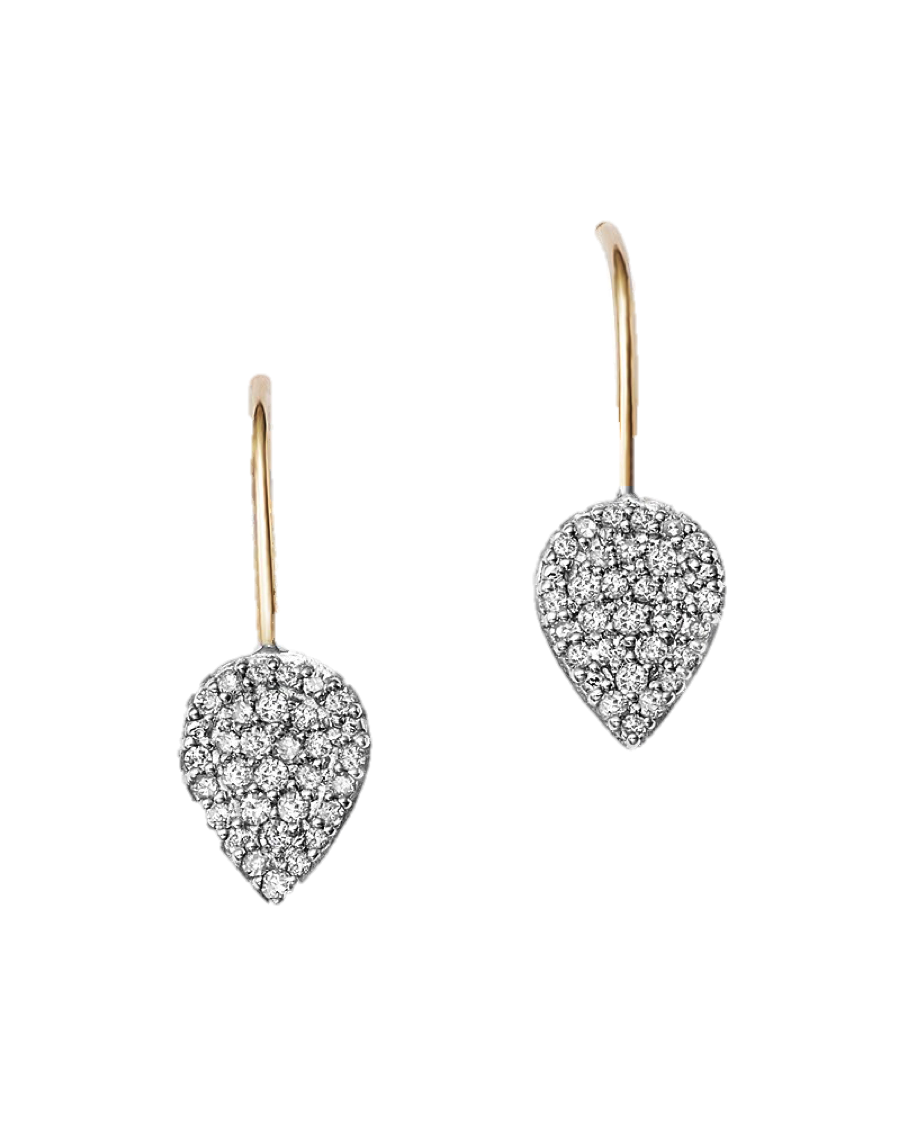 Diamond Teardrop Earrings, $485