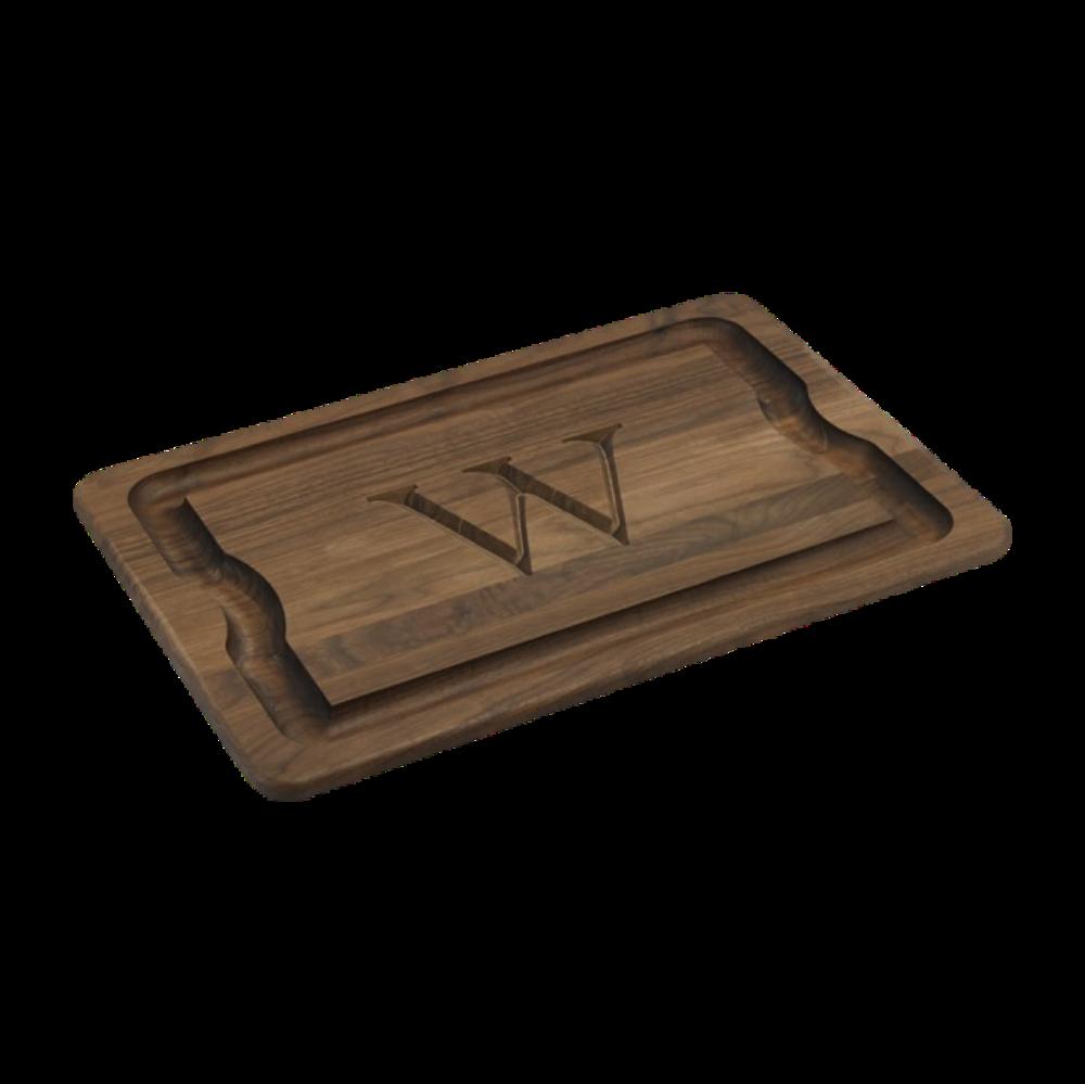 Monogrammed Carving Board, $100
