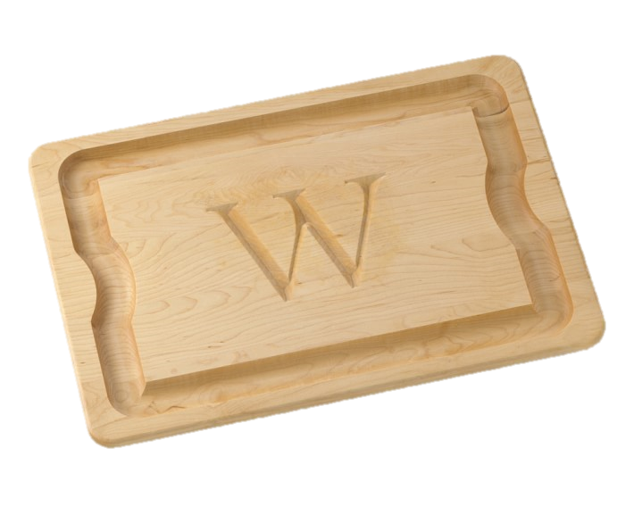 Monogrammed Carving Board, $100+
