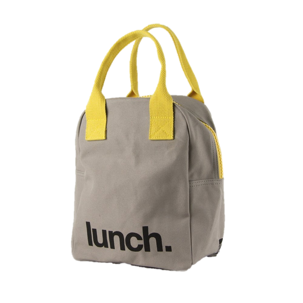 Fluf Lunchbag - The brown paper lunch bag just got an upgrade - this 100% certified organic cotton and machine-washable lunchbag will be the buzz of the cafeteria.