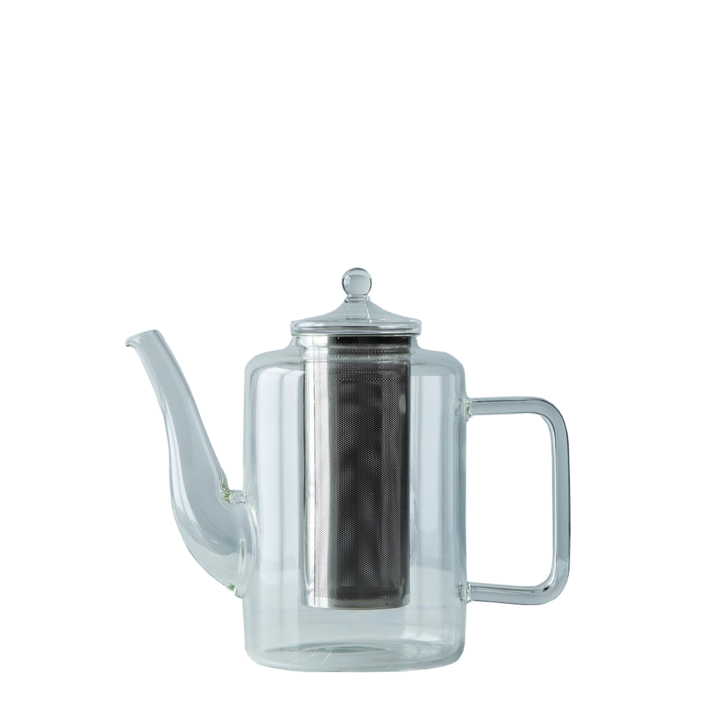 Glass Teapot with Iron Filter, $65