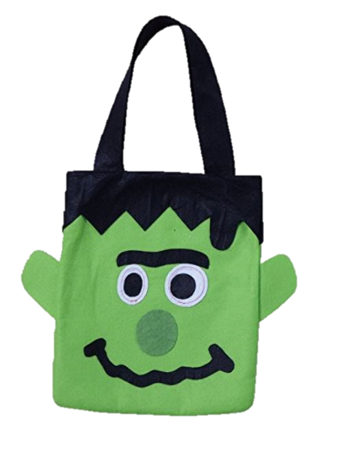 Trick or Treat Bag - These reusable Trick or Treat Bags are a step up from the traditional plastic pumpkin buckets.