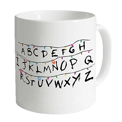Stranger Things Mug - In anticipation for Season 2, give the Stranger Things fan in your life a way to enjoy a thrilling, holiday beverage.