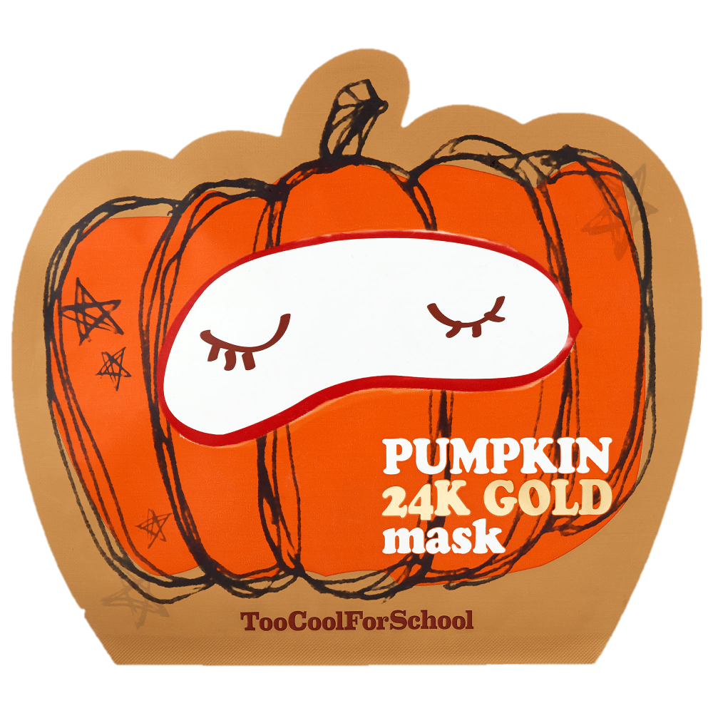 Pumpkin Face Mask - This Pumpkin Face Mask has pumpkin fruit extract to relieve dry and flaky skin, add a natural dewiness, and support natural elasticity and 24K gold to brighten their complexion. Who doesn't want radiant, well-nourished skin this fall?