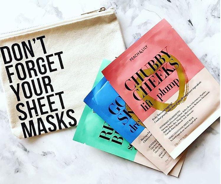 Peach & Lily Mask Set