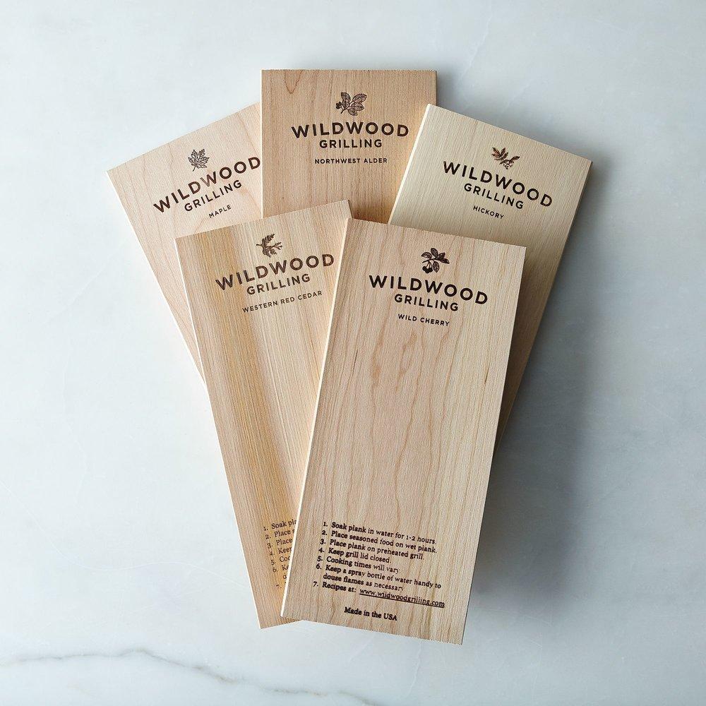 Grill Planks Sampler Pack