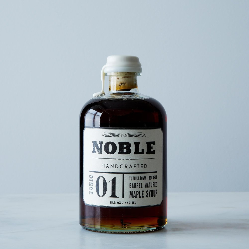 Tonic 01: Bourbon Barrel Maple Syrup
