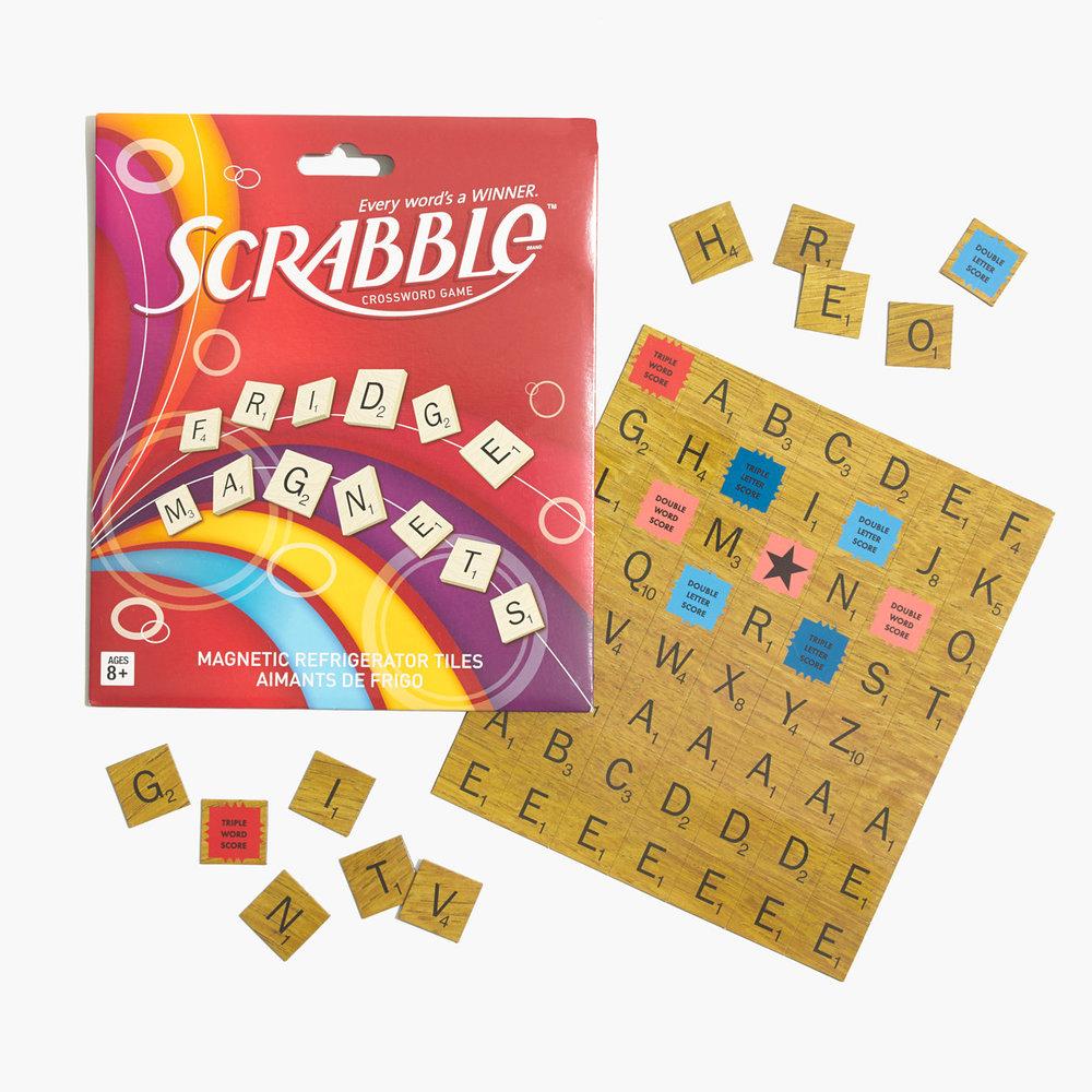 Fridge Scrabble