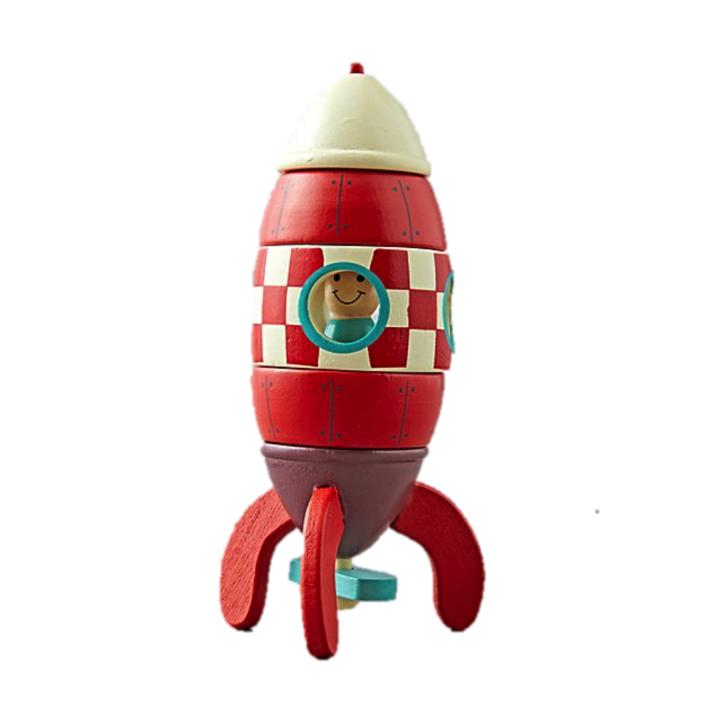 Magnetic Rocket, $18