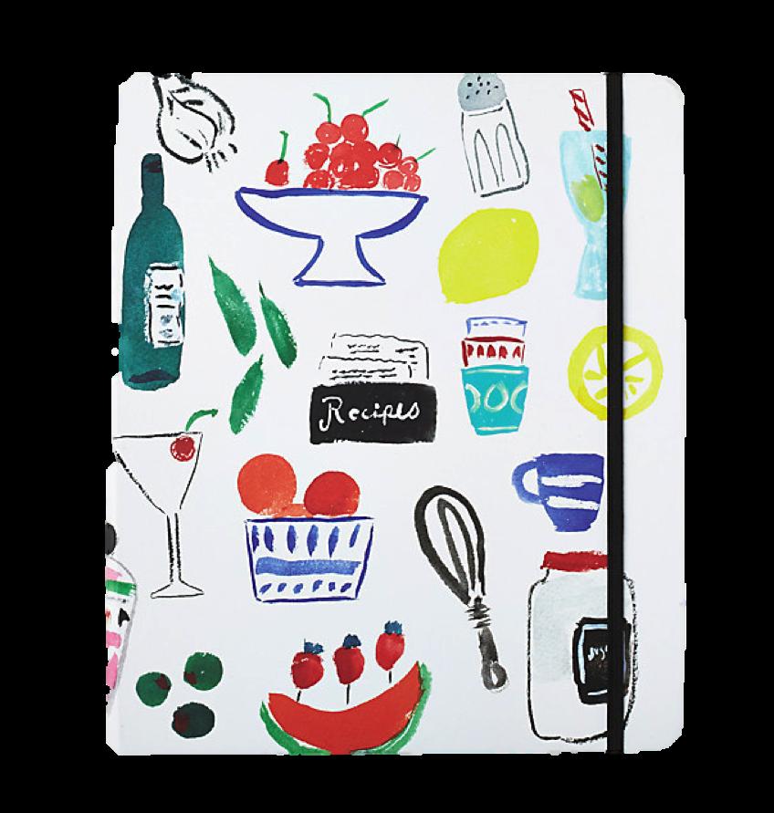 Kate Spade Recipe Book, $34