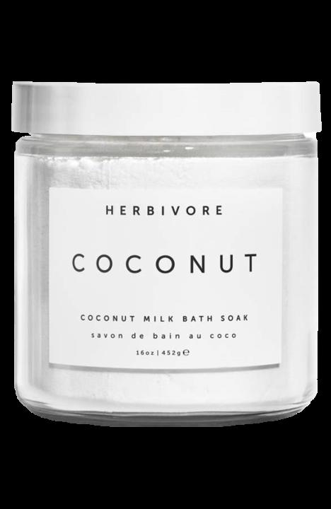 Coconut Milk Bath Soak, $18