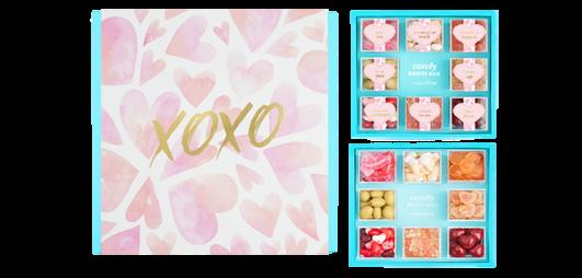 Sugarfina XOXO Bento, $65