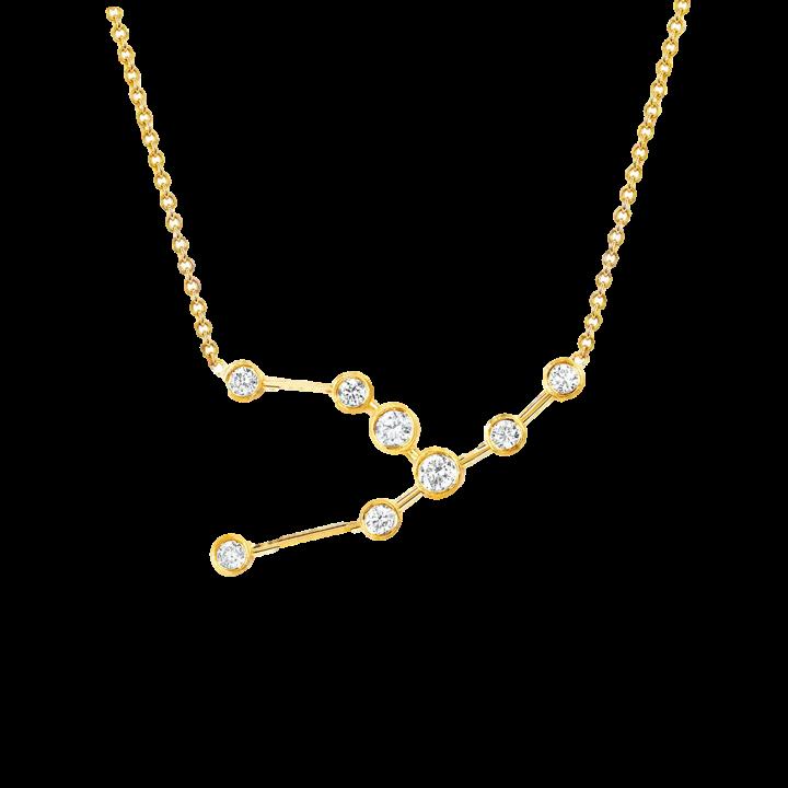 Constellation Diamond Necklace, $1,275
