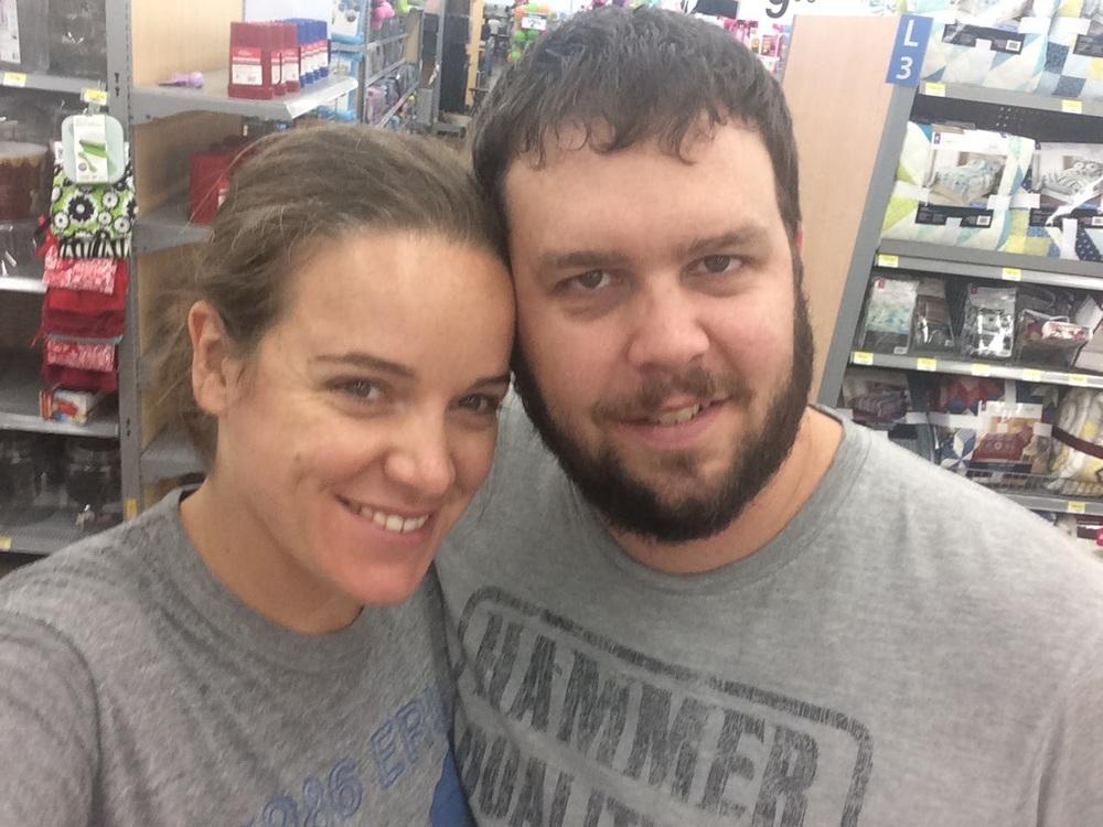 Always a Walmart run